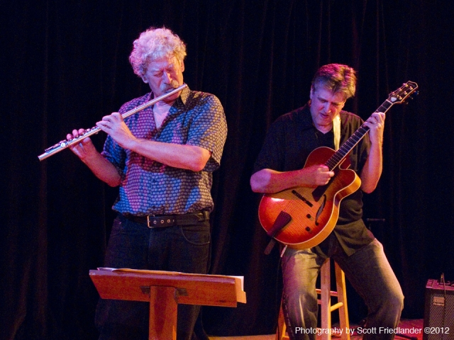 Performance at Westbeth MusicWorks concert in August, 2012